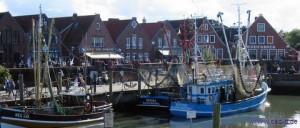 Der Hafen von Neuharlingersiel